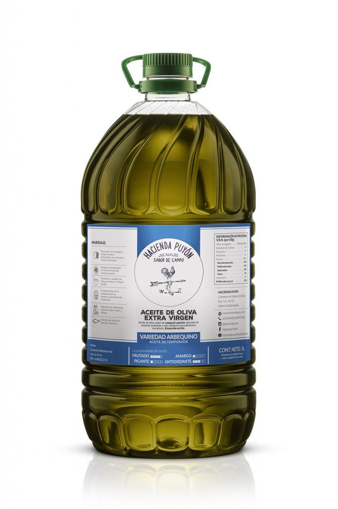 Aceite Arbequina 5L