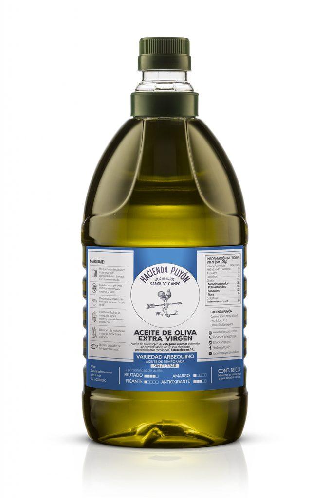 Aceite Arbequina 2L